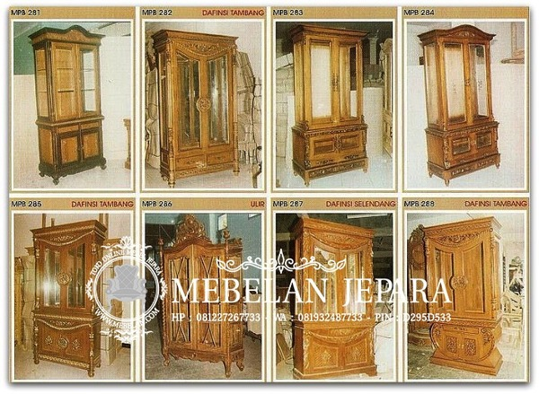 Almari Mebel Ukir Jepara MPB 2007-1-3