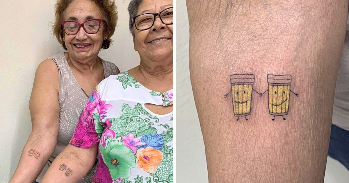Two Women Celebrated Their 30-Year Friendship By Getting Beautiful Couple Tattoos Of What They Both Adore Most