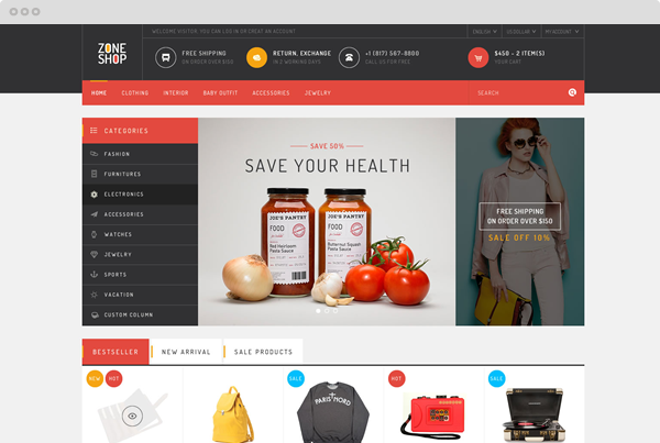 10+ OpenCart Premium Themes You Must Have