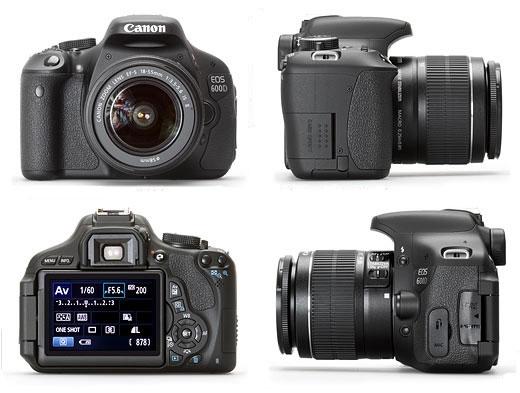 Canon EOS Rebel T3i D600 Digital SLR: Video Reviews Canon
