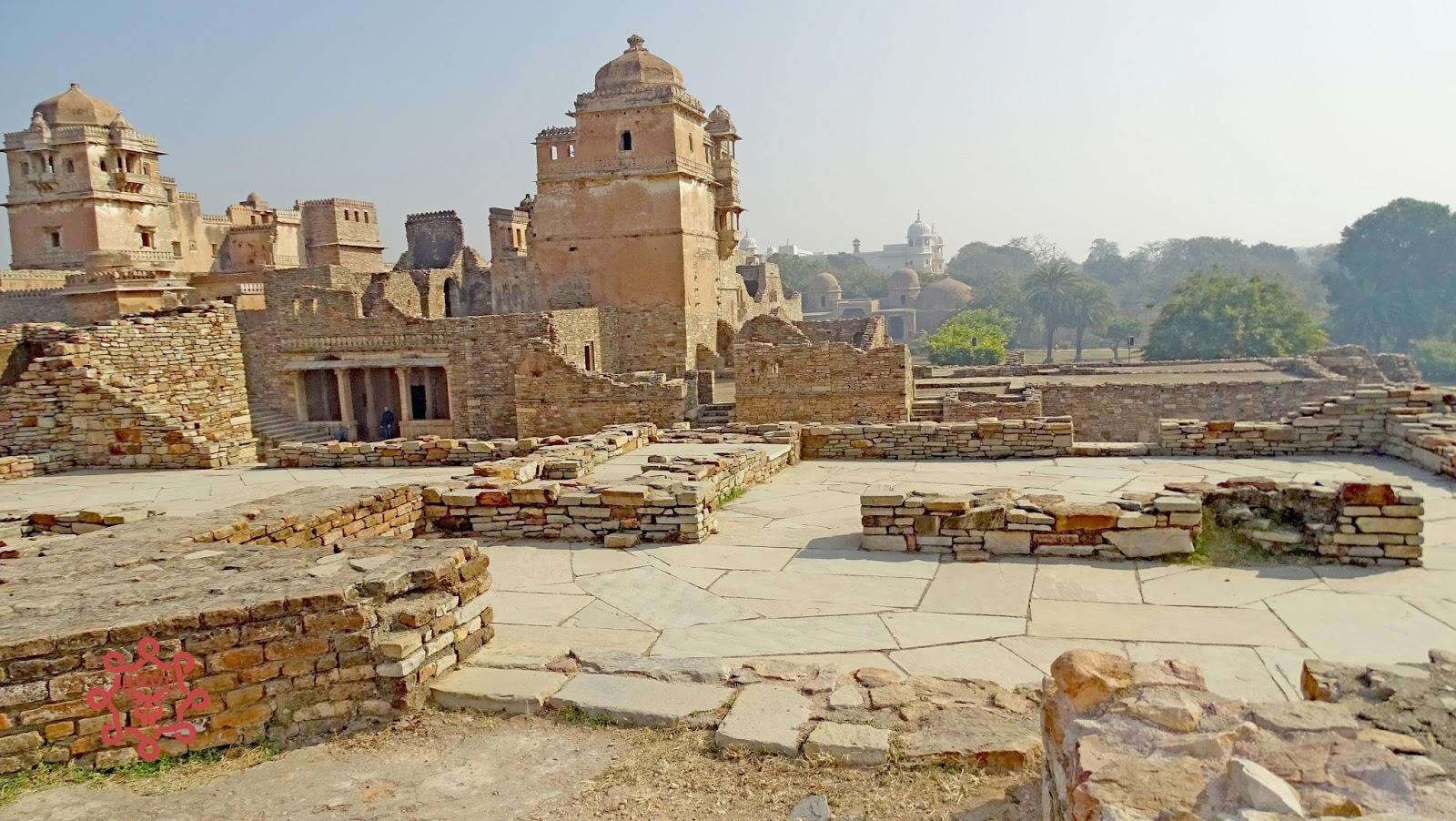 Ruins Of Kumbha Palace Chittogarh