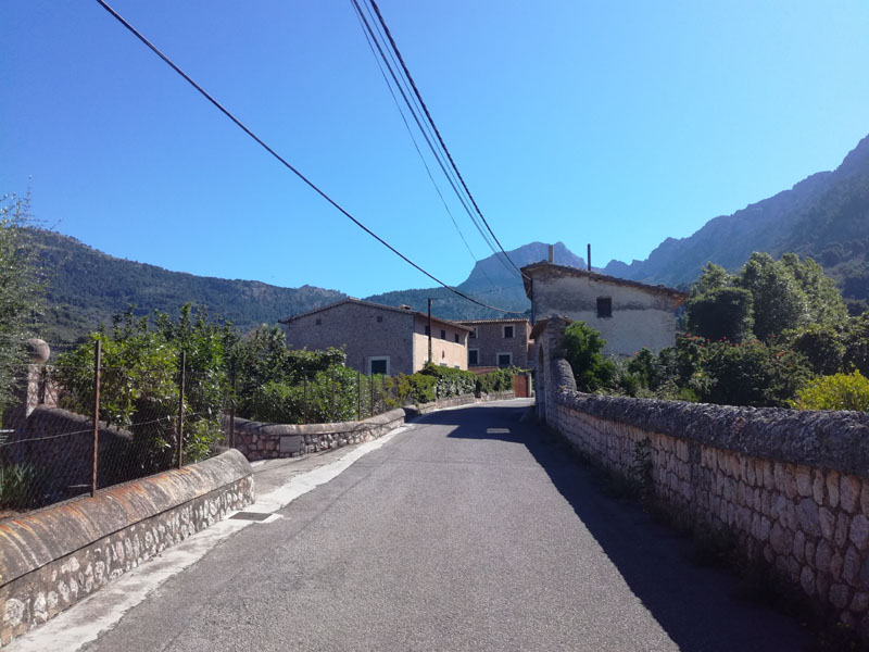 Strada a Biniaraix