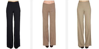 Pantalones para vestir mujer
