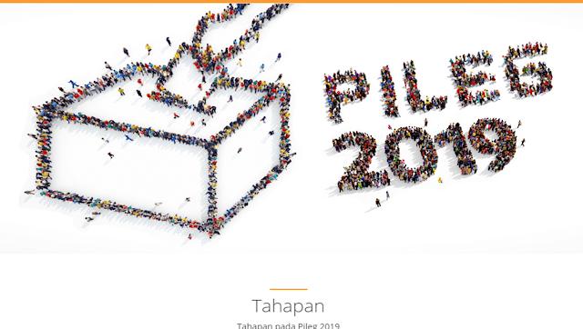 Jadwal Lengkap Pemilihan Umum Republik indonesia  ADDY