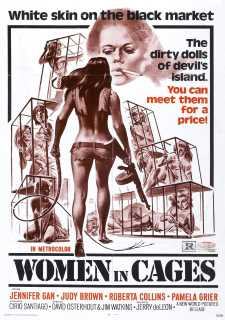 WOMAN IN  CAGES - AS CONDENADAS DA PRISÃO DO INFERNO - 1971