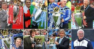 تجمع المدربين الذين حققوا لقب الدورى الانجليزى (البريميرليج ) منذ عام 1992)
