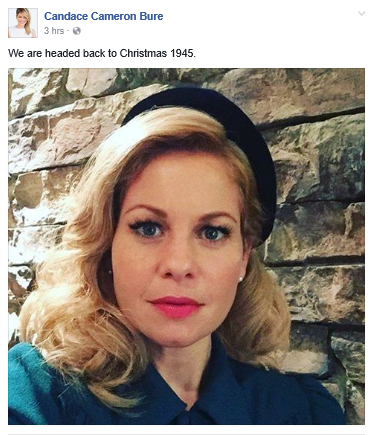 candace cameron bure reveals details on new christmas movie - Candace Cameron Christmas Movies