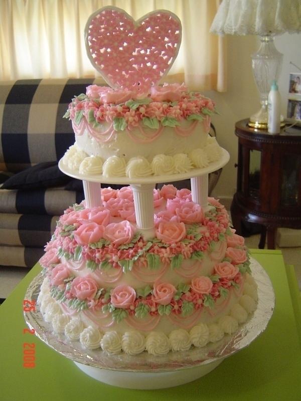 aneka kue ulang tahun ( jois cake ): Kue Pengantin