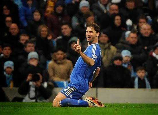 Chelsea Vs Manchester City 2014: Chelsea FC: Results >> Manchester City (0) Vs (1) Chelsea