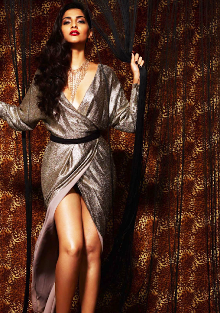 Sonam Kapoor for GQ India October 2013