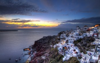 Wallpaper: Memories from Santorini