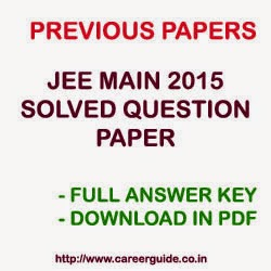 Jee Main Question Paper With Solution Pdf