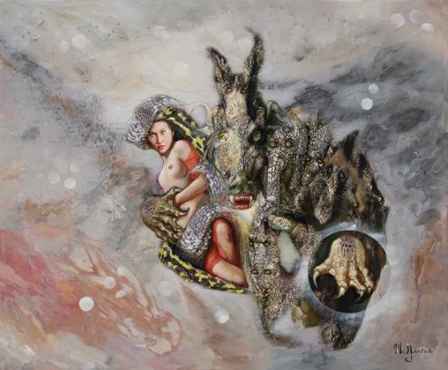 Французский художник. Mad-Jarova