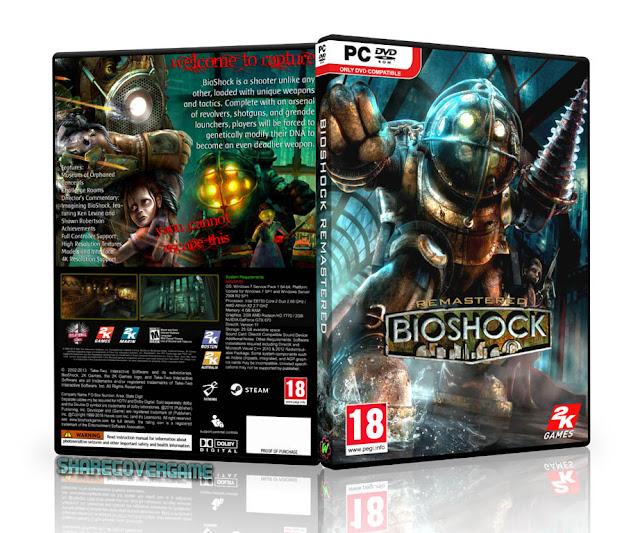 BioShock Remastered Cover Box