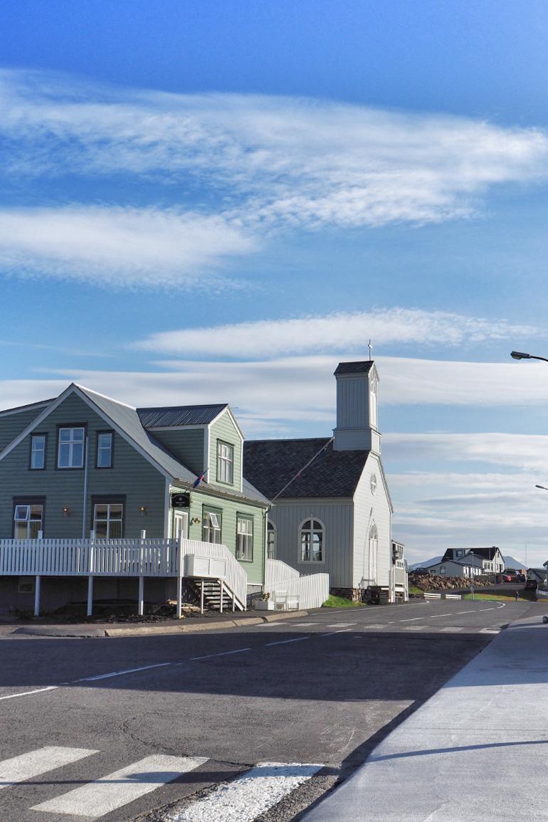 Architecture islandaise - ville de Stykkishólmur