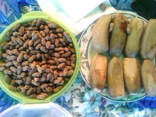 Kacang Dan Pisang Menu Khas Lomba Desa