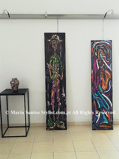 Maria Santos Stylist - Exposição de Pintura por Ana Nobre