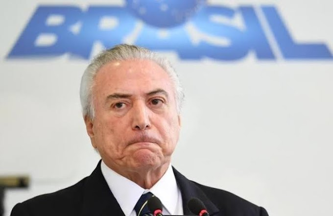 URGENTE - Ex-presidente do Brasil Michael Temer é preso; mais uma operação da Lava Jato