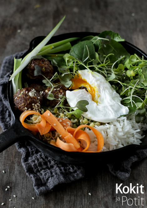 Korealainen bibimbap  | Korean Bibimbap #koreanfood #bibimbap