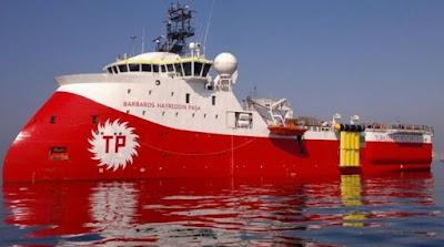 Νέα πρόκληση από το Barbaros: Παρενόχλησε ψαράδες ανοιχτά της Πάφου