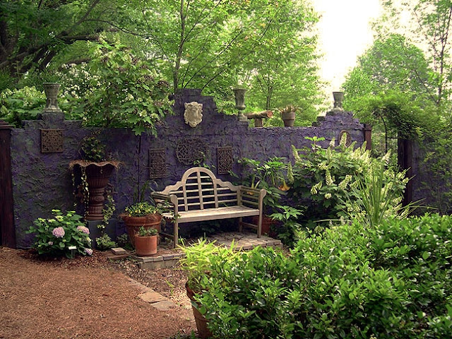 Insomniacs Attic: Gothic Garden Decor on a Beer Budget