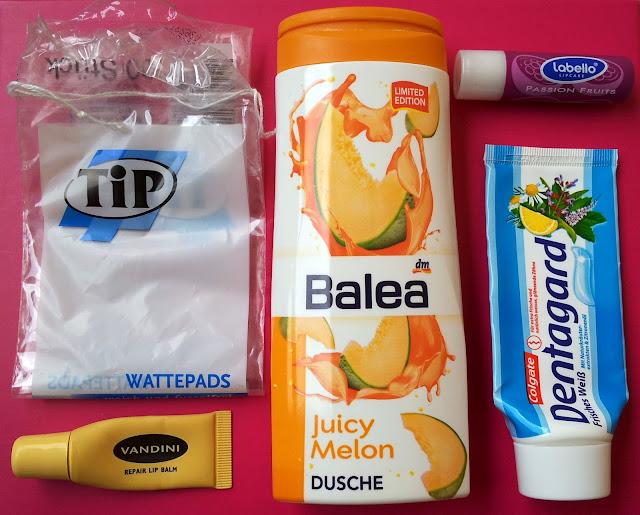 aufgebrauchte Produkte