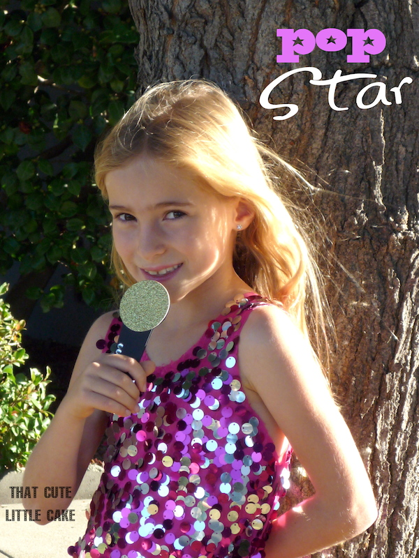 That Cute Little Cake: {Pop Star Party} Invitations