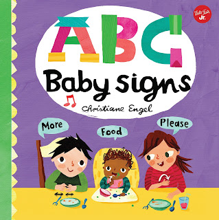 ABC for Me: ABC Baby Signs is an awesome way to learn some basic sign language for you and your littles.  One of my favorite board books to build early communication skills!