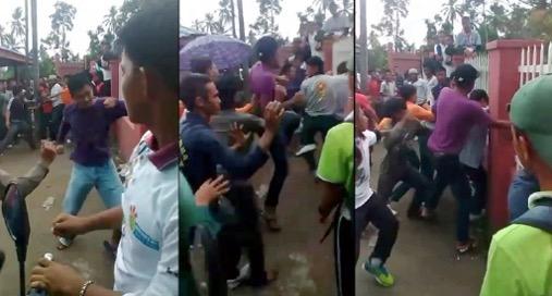 Punca sebenar pelajar bergaduh beramai-ramai ketika sukan tahunan sekolah di Tawau