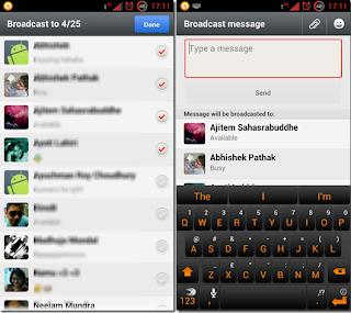 Mensaje en masa Whatsapp
