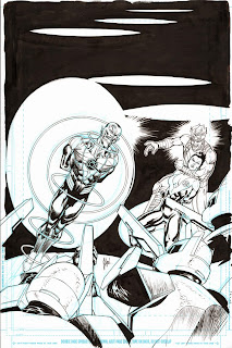SINESTRO #8 cover process by Guillem March