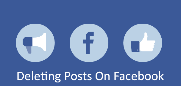 Deleting Posts On Facebook