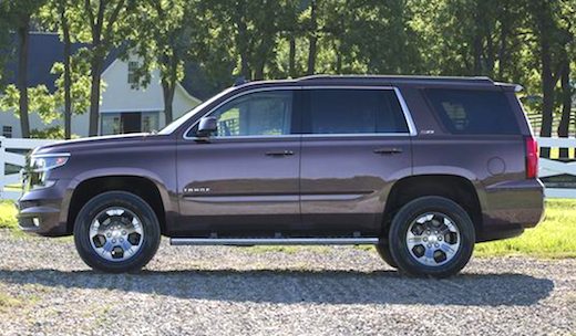 2019 Chevrolet Tahoe Changes