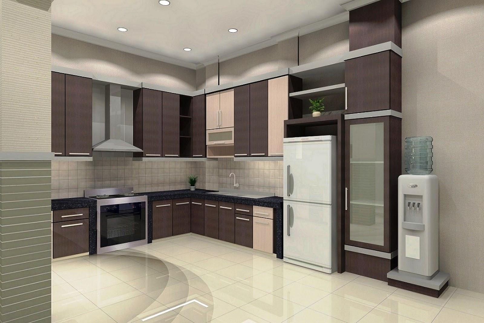 Desain Dapur Minimalis Rumah Type 45 Sederhana
