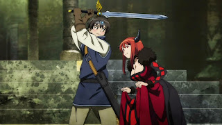 Bohater spotyka Królową Demonów z anime Maoyū Maō Yūsha