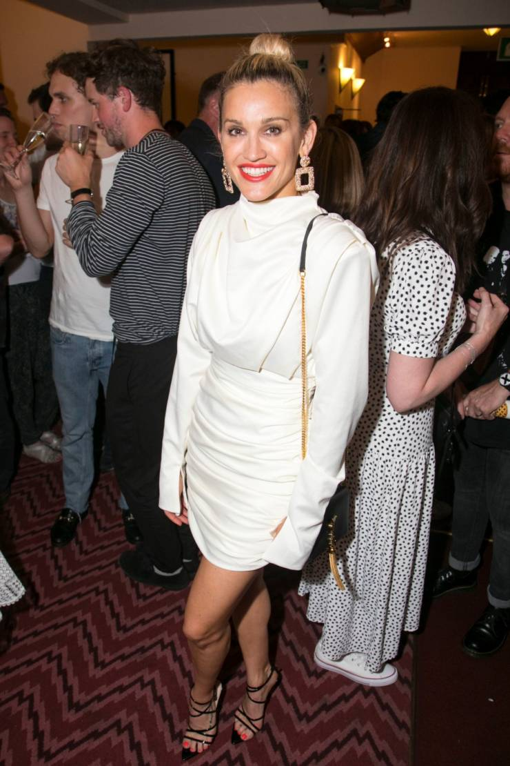 Ashley Roberts At Waitress The Musical Musical Cast