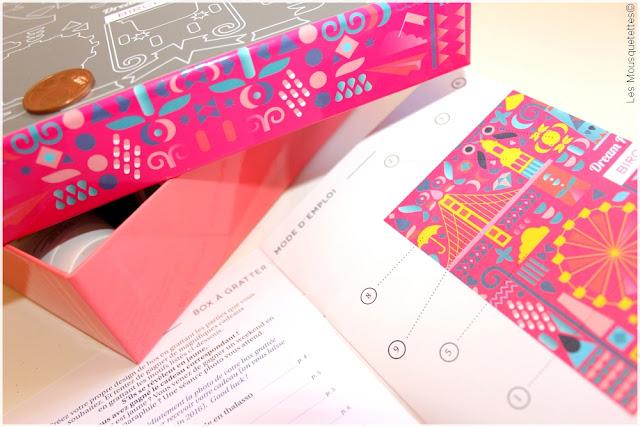 Birchbox Dream Factory mai 2016 - Box beauté - Blog Les Mousquetettes©