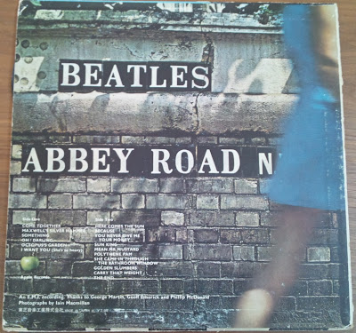 The beatles - abbey road - back
