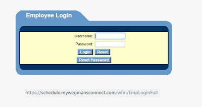 mywegmansconnect employee login