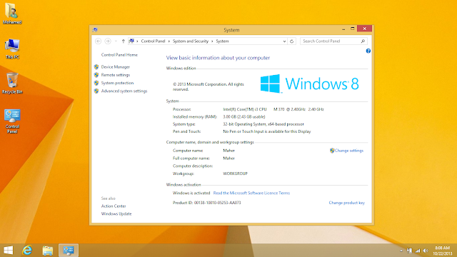Windows 8.1 Enterprise 32 / 64 bit ISO Free Download