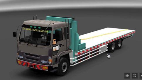 Truck Fuso Selfloader ETS2 indonesia - Download mods game