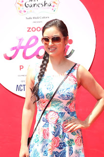 Bollywood and TV Show Celebs Playing Holi 2017   Zoom Holi 2017 Celetion 13 MARCH 2017 045.JPG