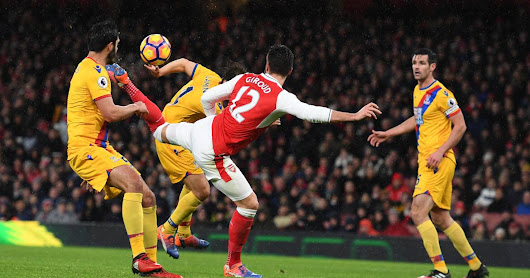 Giroud, of spur, does what can be goal of the year 2017