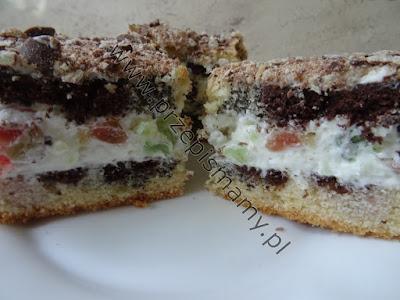 """Ciasto """"Cygańskie ścieżki"""""""