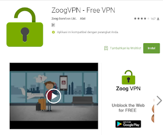 Review zoogvpn android