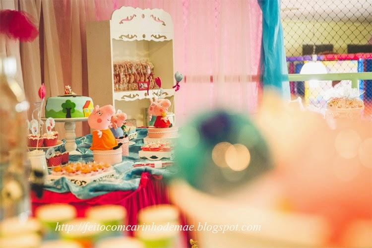 Decoração festa tema Peppa Pig