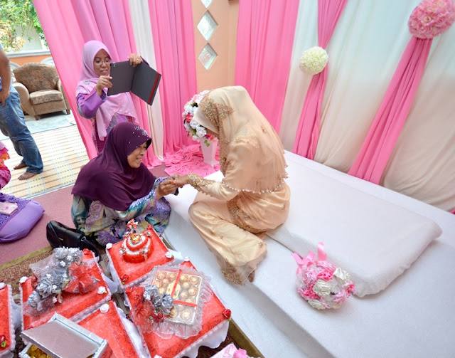 Wawa Syaida: Hantaran Pertunangan For / From Him ~ PINK + RED