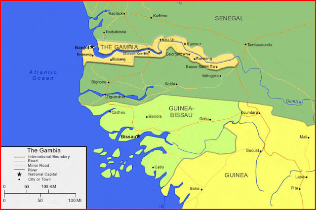 image: Map of Gambia