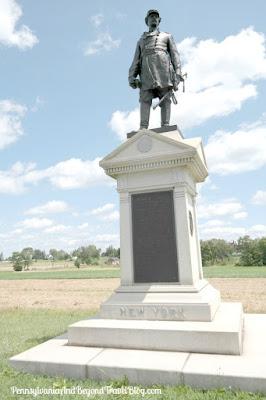 Major General Abner Doubleday Monument - Gettysburg Battlefield