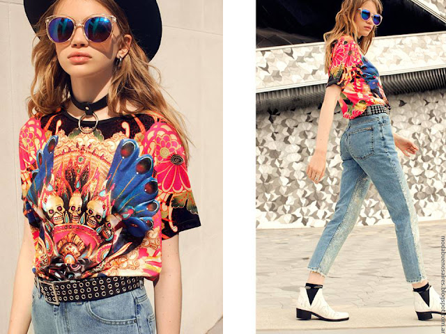 Moda verano 2017 ropa de moda. Moda primavera verano 2017.